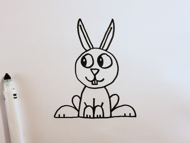 How to Draw a Cute Bunny