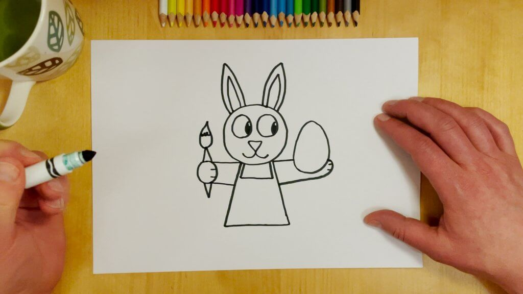 Easter Bunny Step 5
