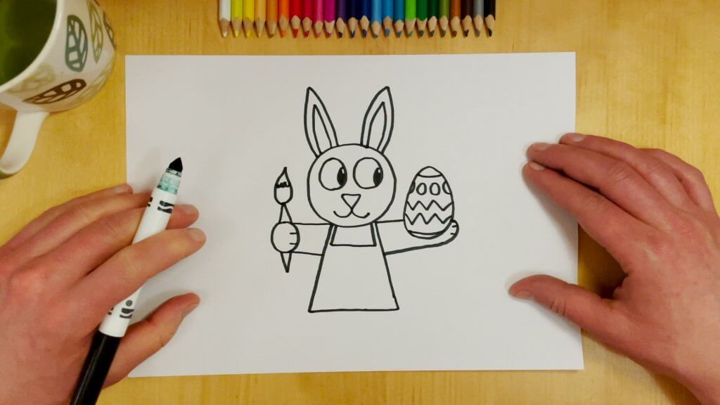 Easter Bunny Step 6