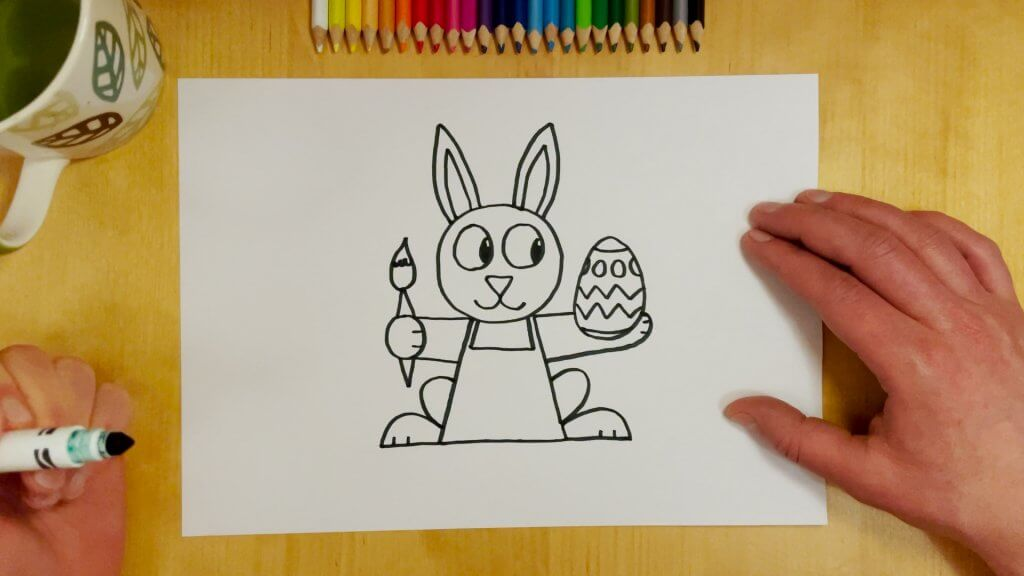 Easter Bunny Step 7