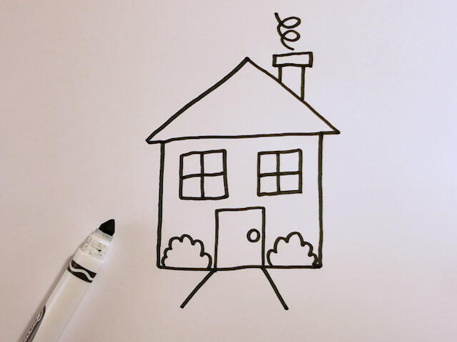 How to Draw a Little House